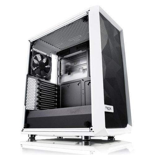 Fractal Design Meshify C White Tempered Glass (ATX/Tempered Glass)
