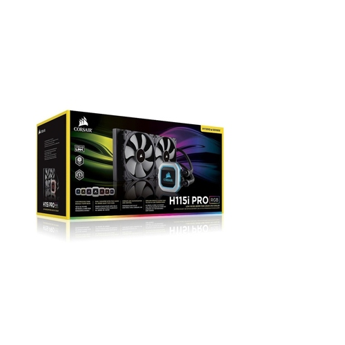 Corsair Hydro Series H115i PRO RGB 280mm Liquid CPU Cooler (CW-9060032-WW)