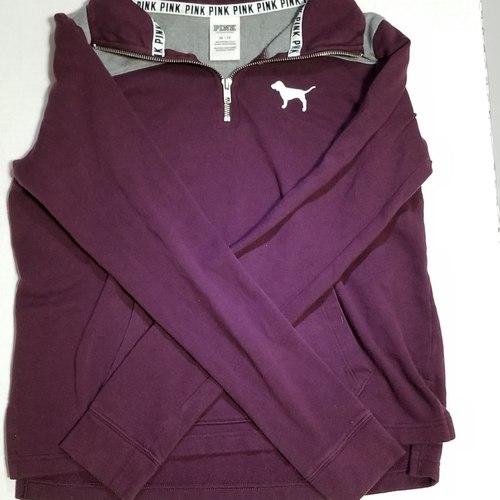 PINK zip sweater