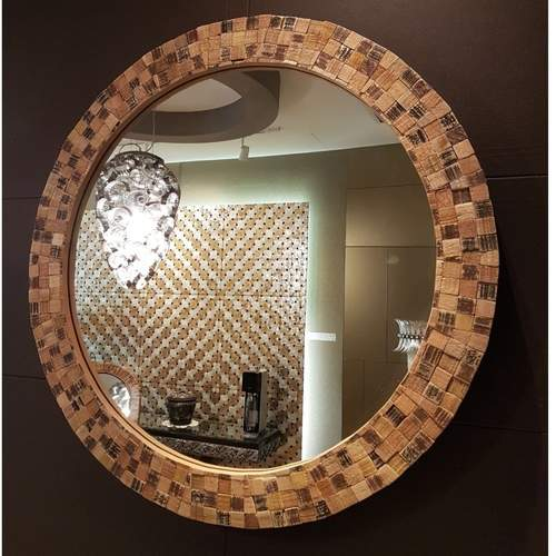MANUEL COUNTRY BROWN MIRROR