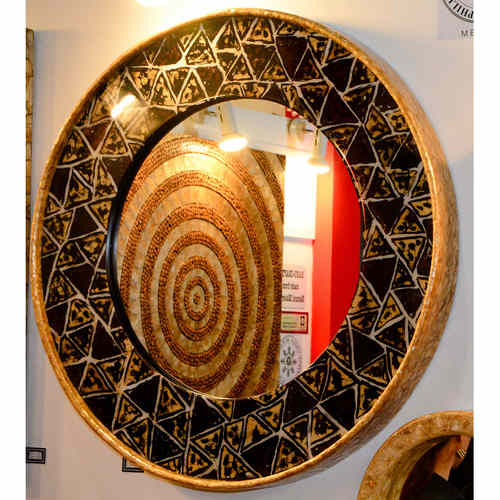 FRANCISCO MOTHER-OF-PEARL MIRROR
