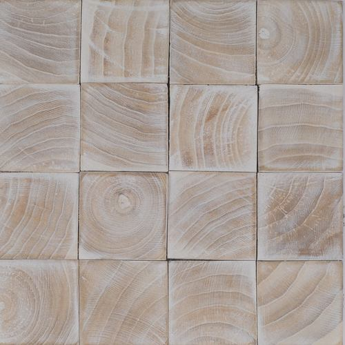 Raffy 1 Coconut Palm Wood White Wash