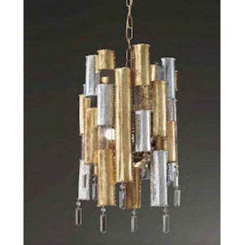 6680/4 CITY DESIGN CHANDELIER
