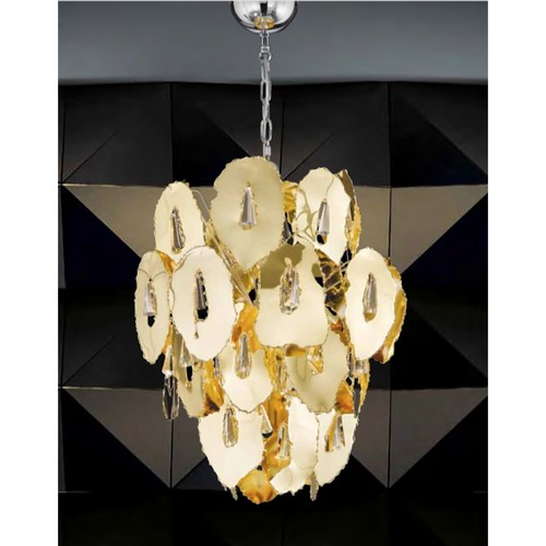 6879/8 GOLD DESIGN CHANDELIER