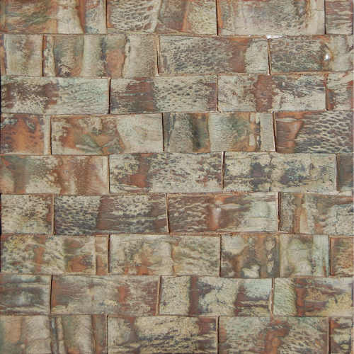 Niger 3 Rough Coconut Tree Bark    Matte Algae Green