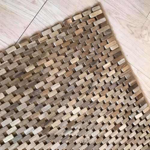 Teak Wood Mat