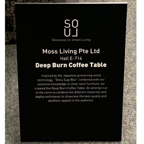 Deep Burn Coffee Table