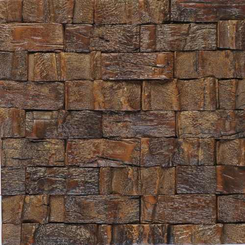 Niger 3 Rough Coconut Tree Bark Matte Varnished