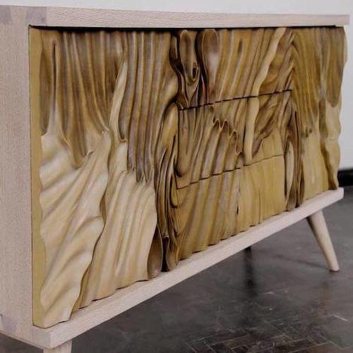 Wave Side Board