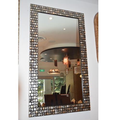 MOSIAC  MOTHER-OF-PEARL MIRROR