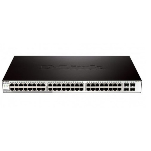 Dlink 48-ports Layer 2 Web Smart Gigabit Switches (Model : DGS-1210-52)