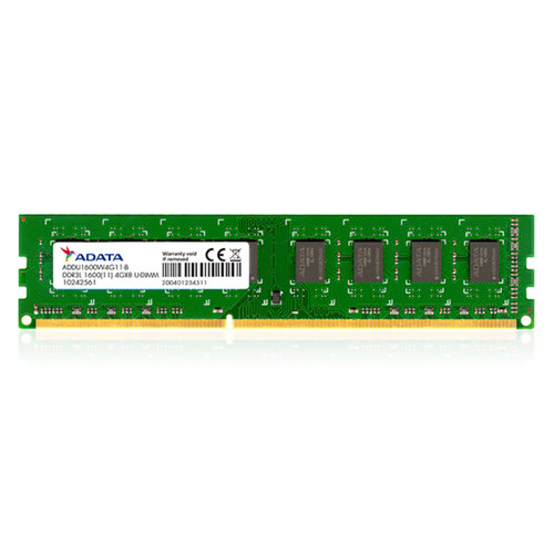 Adata DDR4 and DDR3 RAMs for Desktop and Laptop