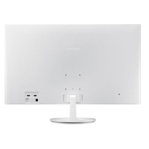 """Samsung 32"""" FHD White Monitor with Super Slim Design (Model : LS32F351FUEXXS)"""