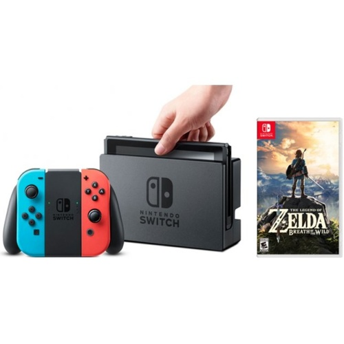 Nintendo Switch Console (The Legend of Zelda: Breath of the Wild Bundle)