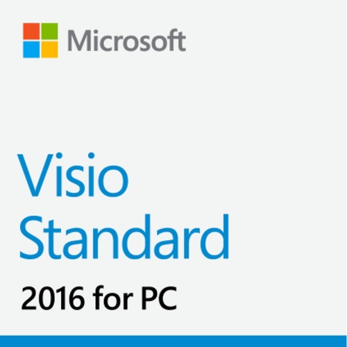MS Visio Standard 2016 Win English for 1 PC