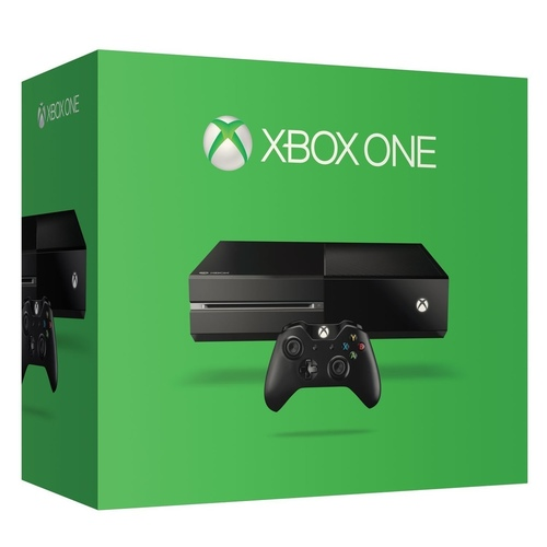 Microsoft XBox One 500GB Console (Choice of 1 of the following : FIFA 17, Forza Horizon 3, Halo 5, Quantum Break, Lego Movie)
