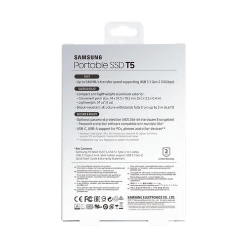 Samsung T5 Portable 1TB SSD