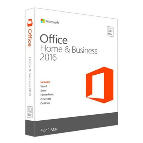 MS Office Home and Business 2016 Win English for 1 MAC