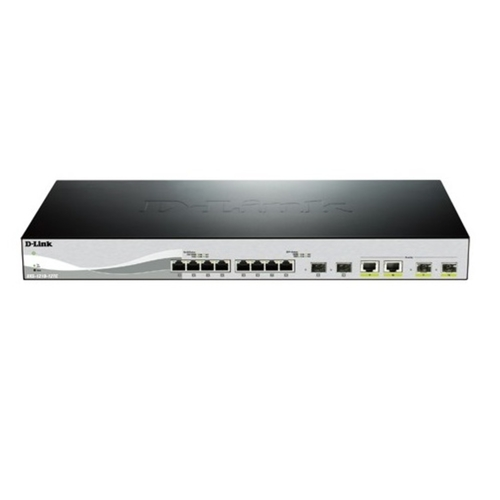 Dlink 8-ports Layer 2 10 Gigabit Ethernet Smart Managed Switches (Model : DXS-1210-12TC)