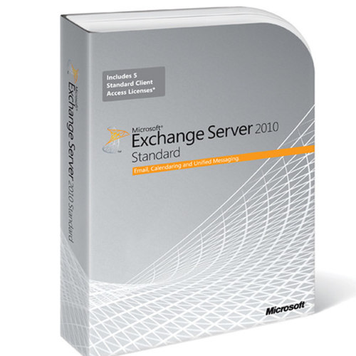 MS Exchange Svr 2010 x64 English DVD with 5 CLT