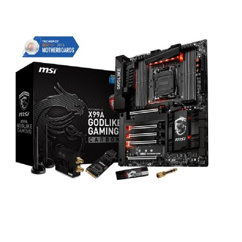 MSI X99A GODLIKE GAMING Carbon Mainboard