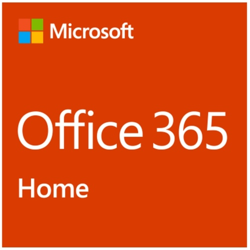 MS Office 365 Home (1 year subscription) for 5 Users English