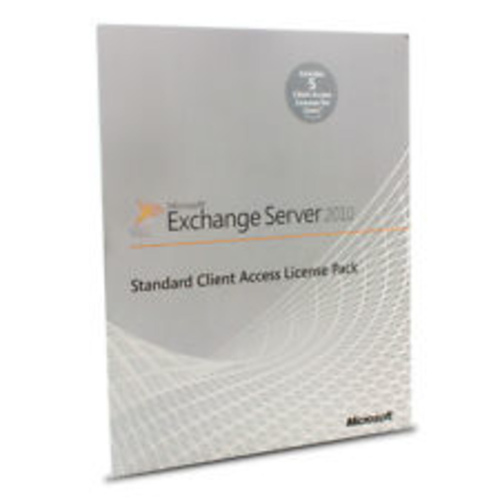 MS Exchange Standard CAL 2010 English MLP