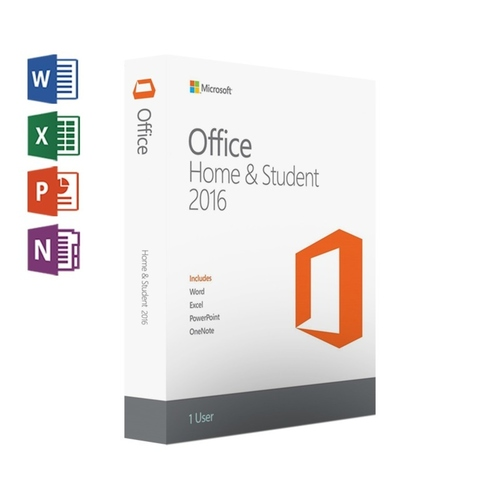 MS Office Home and Student 2016 for 1 Windows PC