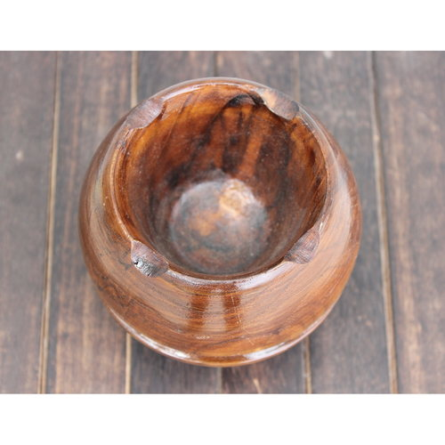 Teak Wood Ashtray