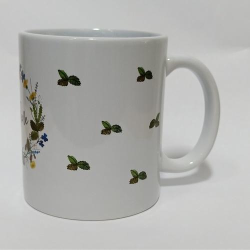 Whimsical Floral Mug