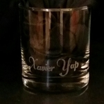 ENGRAVED PERSONALIZED WHISKEY GLASS WITH NAME FOR CHRISTMAS, BIRTHDAY, AND MORE