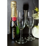 PETITE MOET & CHANDON AND PAIR OF GLASSES SET