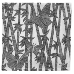 Cotton Napkin - Bamboo Butterfly
