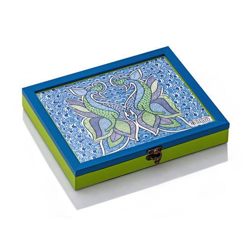 Kalam Storage Box - Peacock