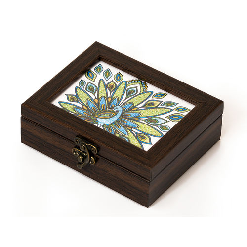 Kalam Storage Box - Peacock