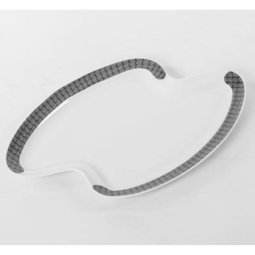 Zig Zag Platter - Spirals