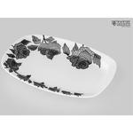 Rice Platter - Rose