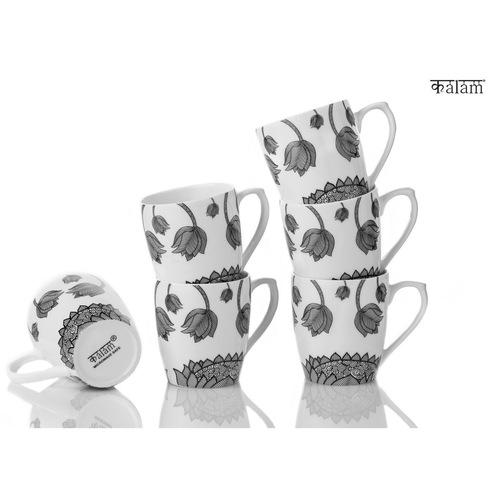 Lotus Set of 6 Mugs