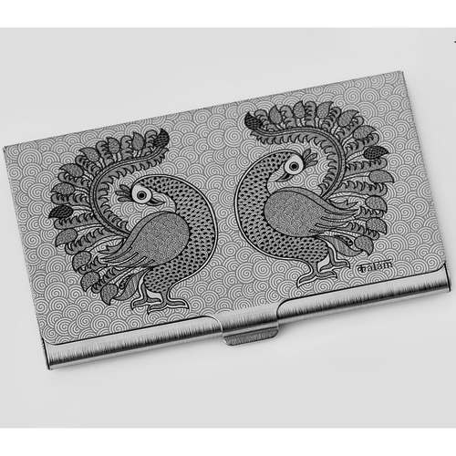 Peacock Visiting Card Holder