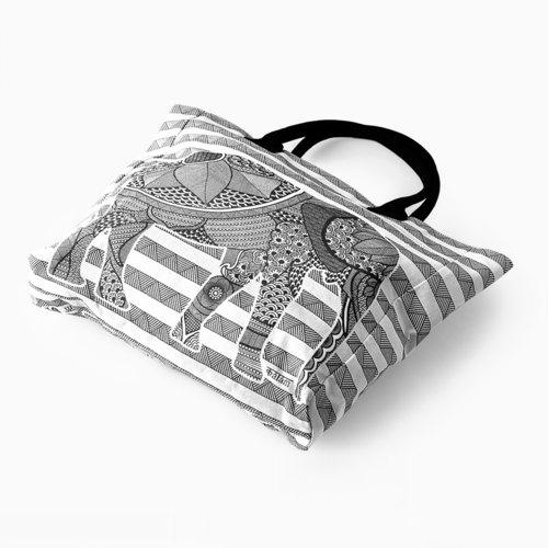 KALAM ELEPHANT TOTE BAG