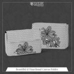 Hibiscus Canvas Folder