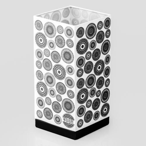 ABSTRACT CIRCLE TABLE LAMP