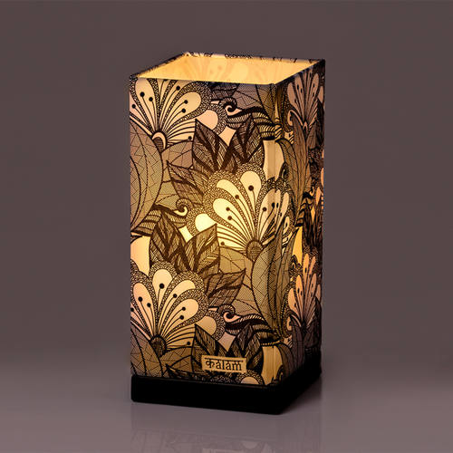 ABSTRACT FLOWER LAMP