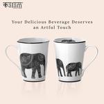 Set of 2 Elephant Mugs