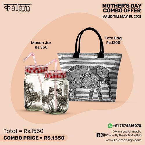 Mason Jar + Tote Bag