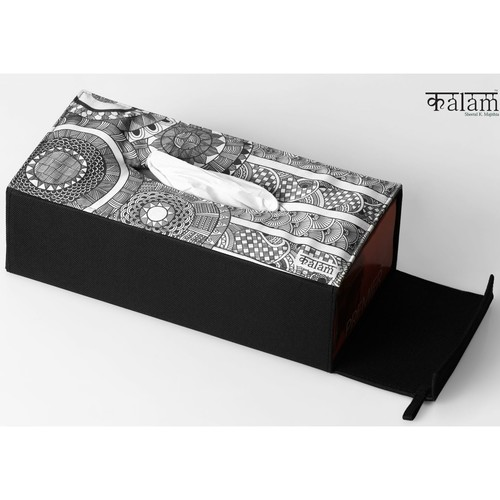 Circle Tissue Box Cover