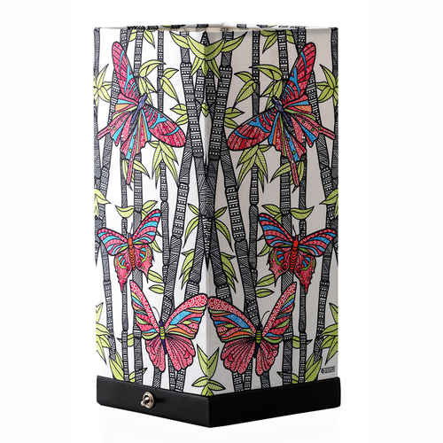 BAMBOO BUTTERFLY TABLE LAMP