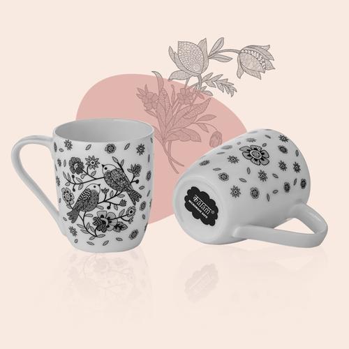 Set of 2 Sparrow Mugs