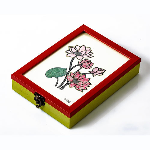 Kalam Storage Box - Lotus