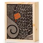 Natural Wooden Slider Box Small- Tilak Ganesh